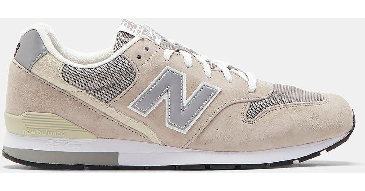 best website d6dac 158d7 New Balance Multicolor Men's 996 Running Classic Sneakers In Taupe for men