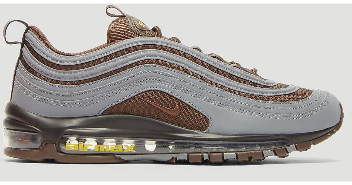 premium selection b4ba6 2a179 Lyst - Nike Air Max 97 3m Sneakers In Black in Black for Men