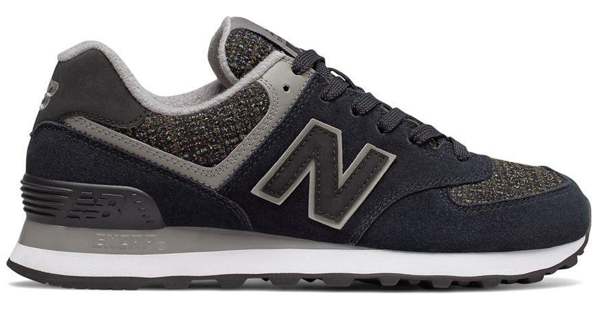 sports shoes 1a0ea 96114 New Balance - Black 574 Winter Nights Lace-up Sneakers - Lyst
