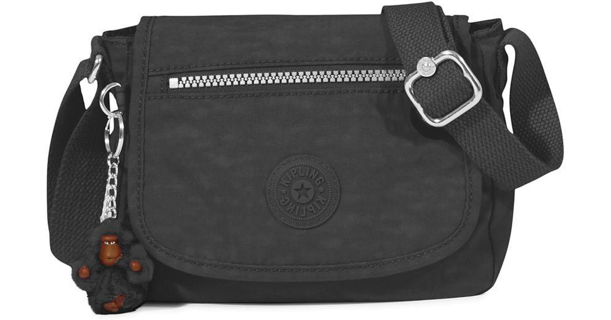 b15bbb55f4b4 Kipling Black Sabian Cross Body Mini Bag