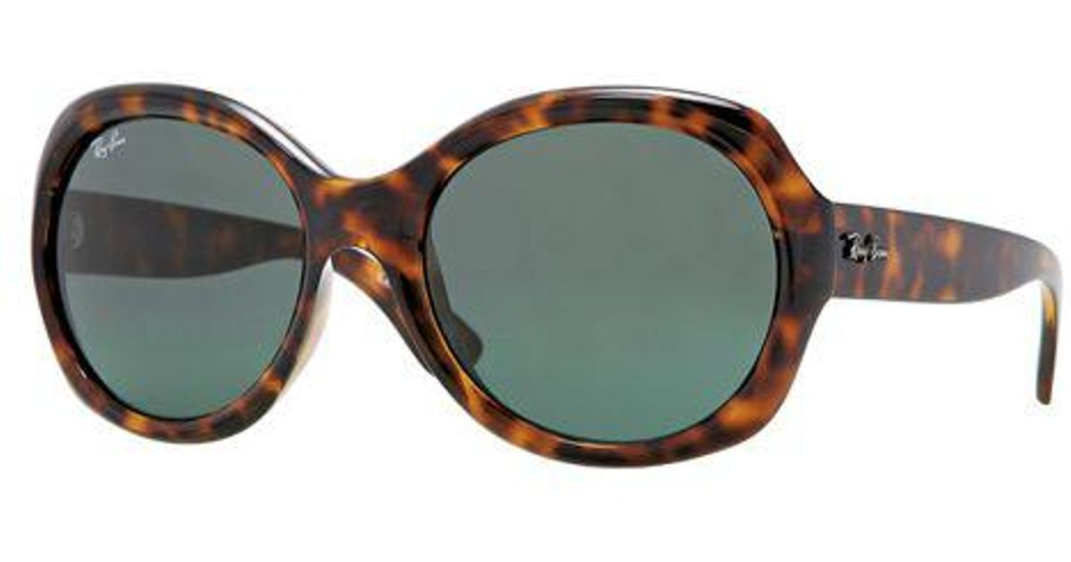 25f6f76abd Lyst - Ray-Ban 57mm Large Round Glam Acetate Sunglasses