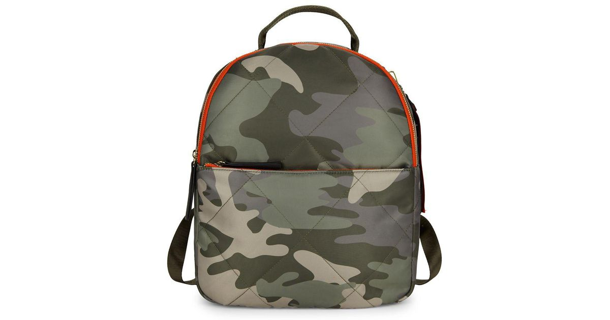 6f025bc723bc Lyst - Tommy Hilfiger Camo Printed Kensington Backpack in Green