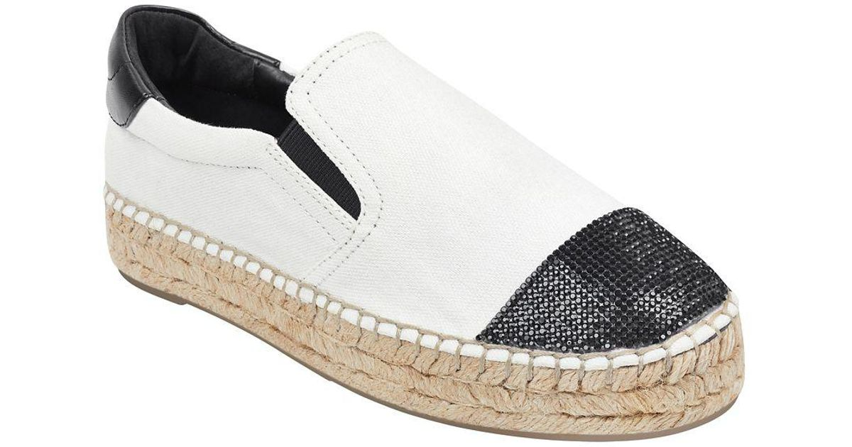 761100bd5 Kendall + Kylie Joss Canvas Espadrilles in White - Lyst