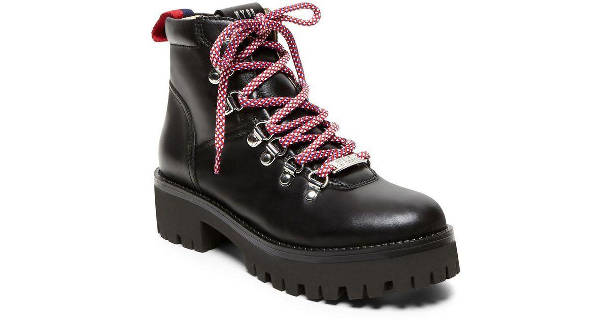 9ae84e78ee3 Steve Madden Black Bam Leather Boots