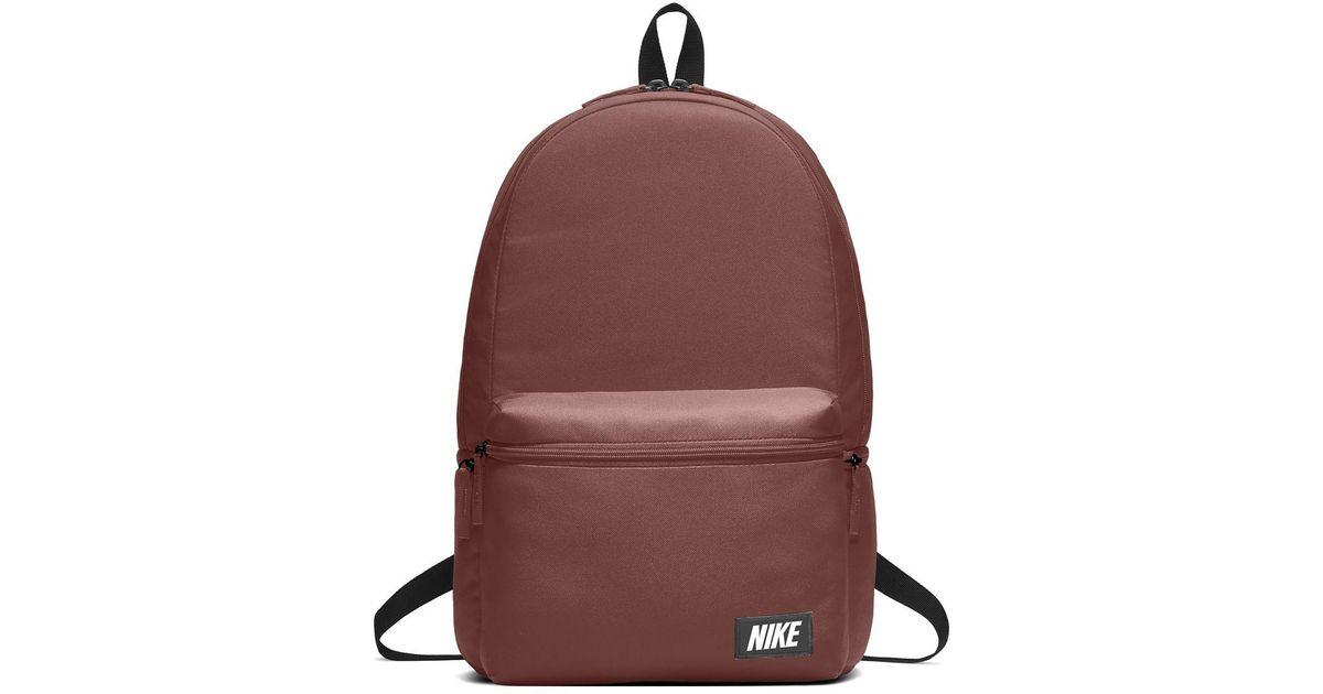e9dd08e7d3e Nike Brown Sportswear Heritage Backpack