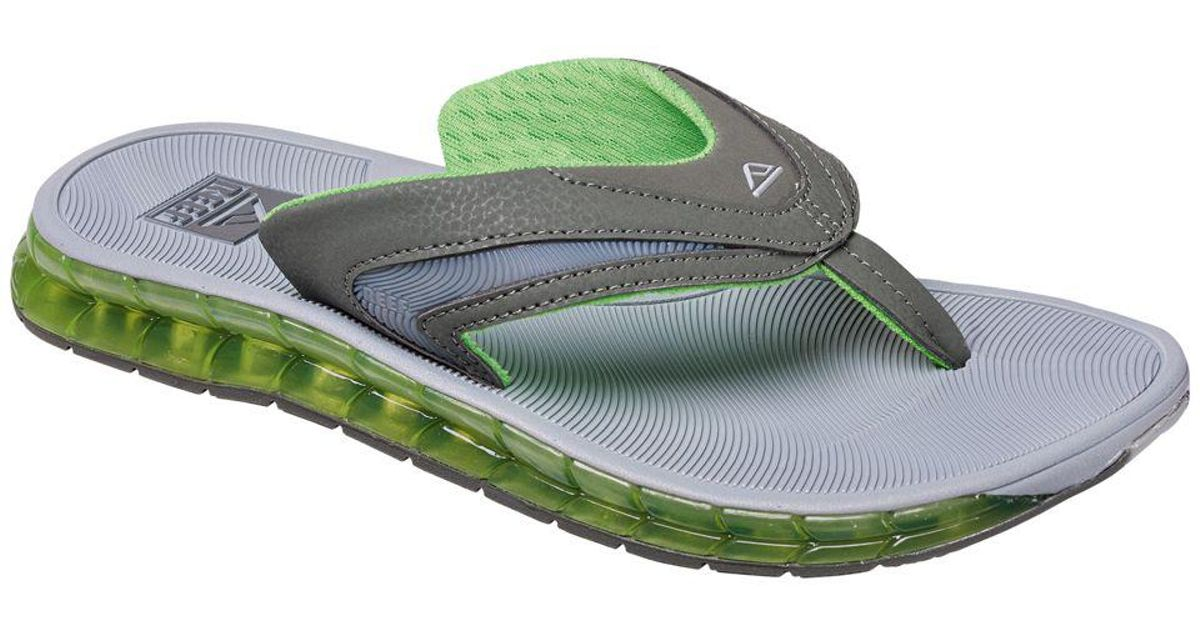 b9960726fae Lyst - Reef Boster Slip-on Sandals in Green for Men