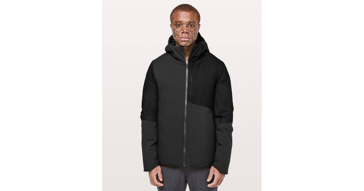 46287438b lululemon athletica Black Pinnacle Warmth Jacket for men