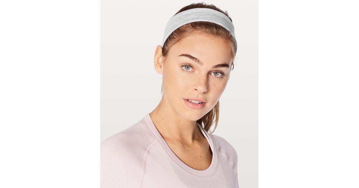 lululemon athletica Fly Away Tamer Headband 2.0 - Lyst 393a9f5774d
