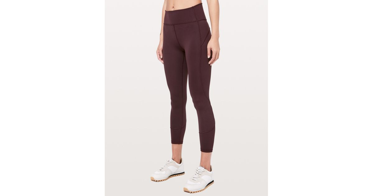 125b295d9 lululemon athletica In Movement 7 8 Tight  everlux 25