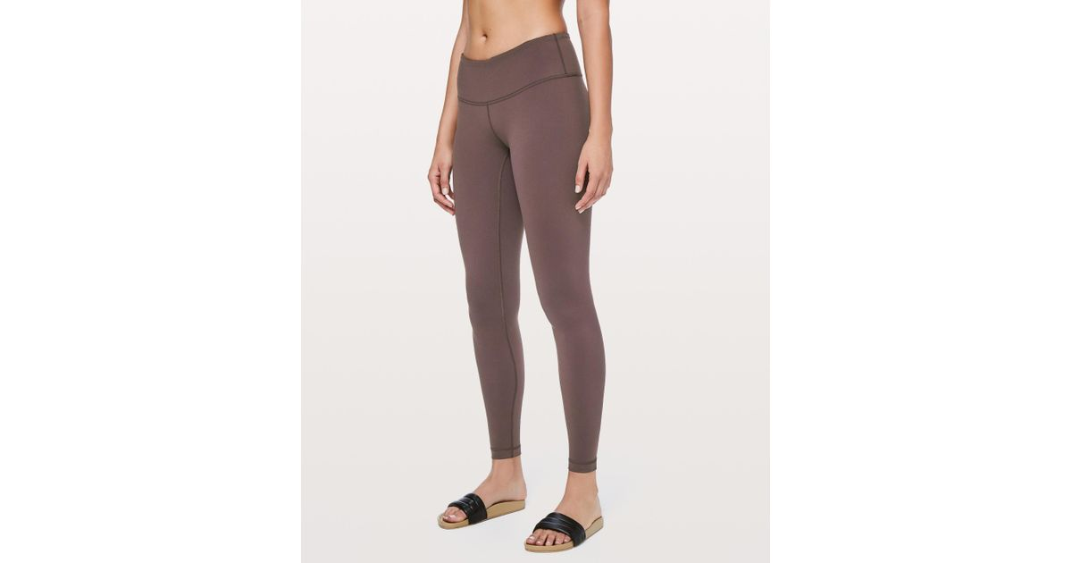 7a0b3824ce5b4 Lyst - lululemon athletica Wunder Under Low-rise Tight *full-on Luon 28