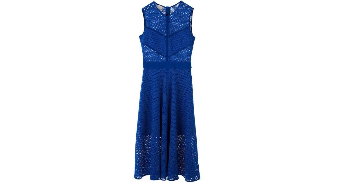 buy online 63b06 51552 Pinko Blue Abito Celibe Blu