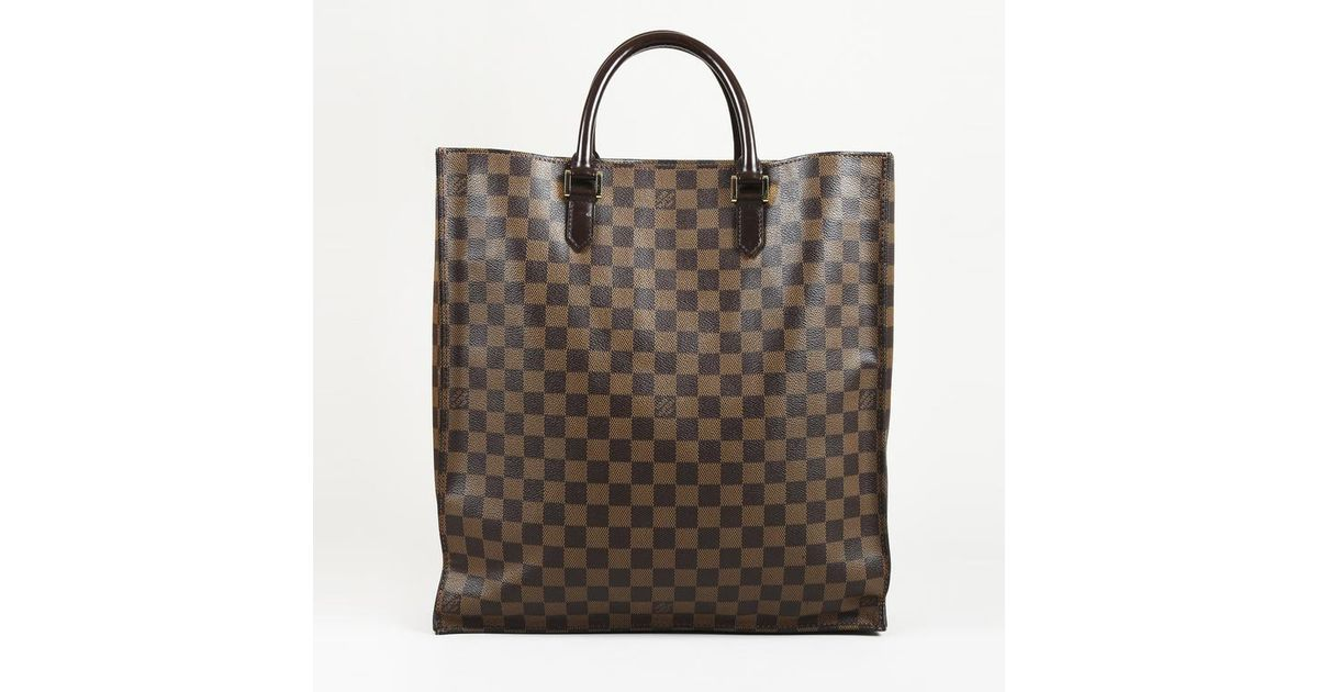 c94c6e18daa7c Louis Vuitton Damier Canvas   Leather