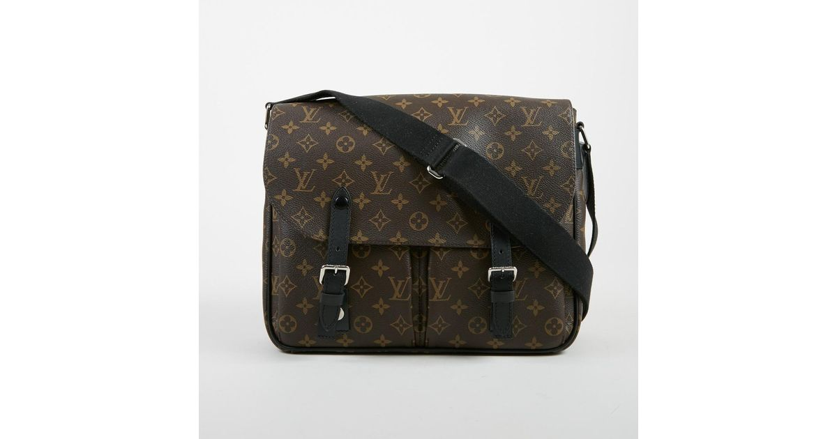 5d1bed762e0 Lyst - Louis Vuitton Brown Monogram Coated Canvas Christopher Messenger Bag  in Brown for Men