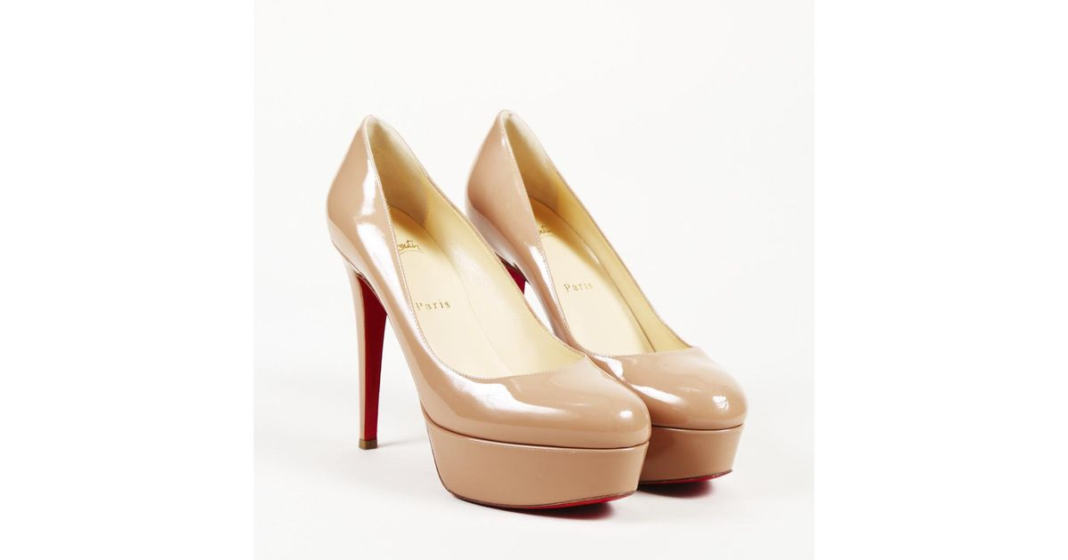 the best attitude 01619 6db73 Christian Louboutin Pink Patent Leather