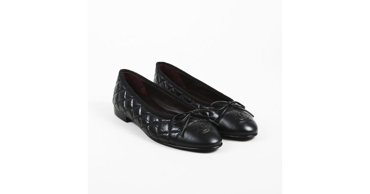 Chanel Leather Black Aged Calfskin