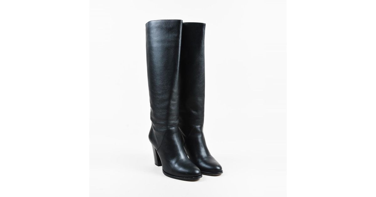 Jimmy choo Patent Leather Riding Boots ktOWHMJ4To