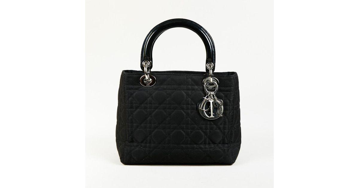 a08447cf86cf Lyst - Dior Black Nylon