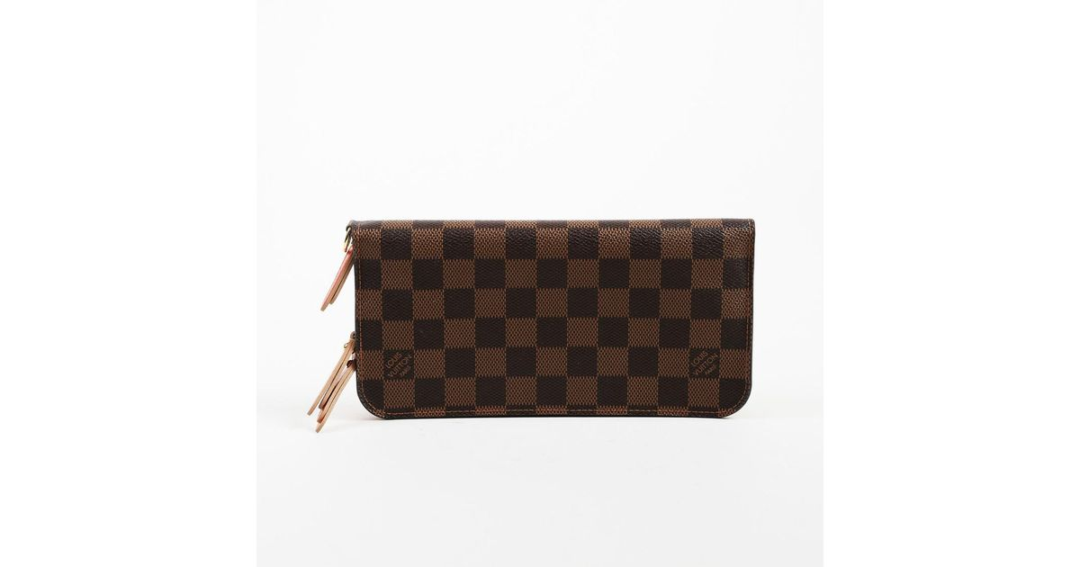 e52c21858dfa Lyst - Louis Vuitton Brown Red