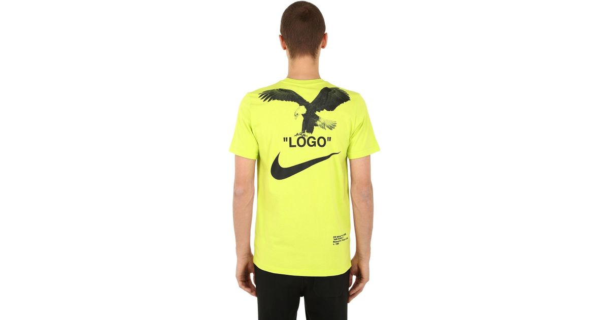 t shirt nike off white
