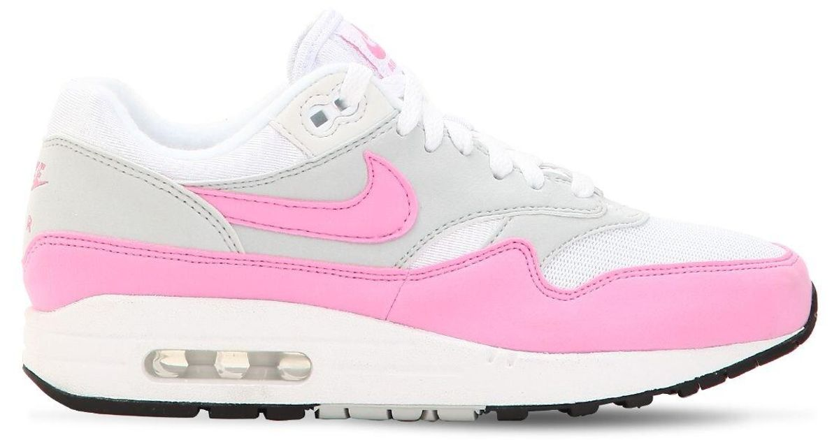Bienvenido Nombre provisional algas marinas  Nike Leather Air Max 1 Gel Sneakers in White - Lyst
