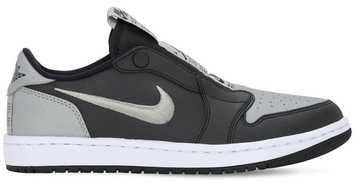 Nike Black Air Jordan 1 Retro Low Slip Se Sneakers