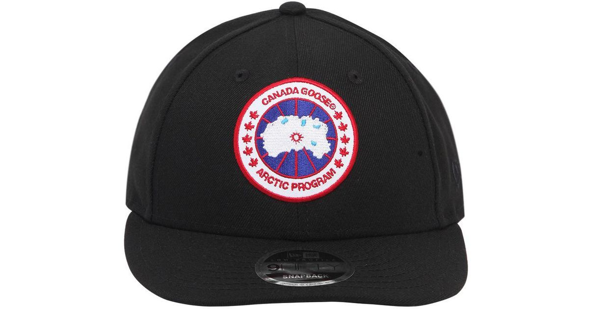 Canada Goose New Era Core Cap in Black for Men - Lyst 08403dfbeade