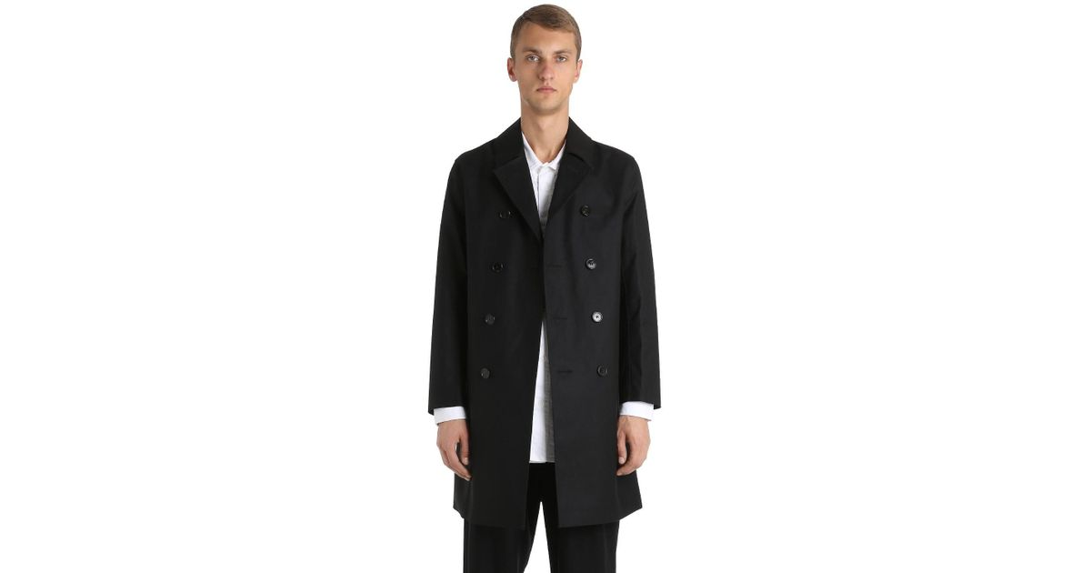 2018 Unisex Sale Online With Paypal Cheap Price RUBBERIZED WOOL COAT Largest Supplier Pay With Visa Cheap Price ULgRF