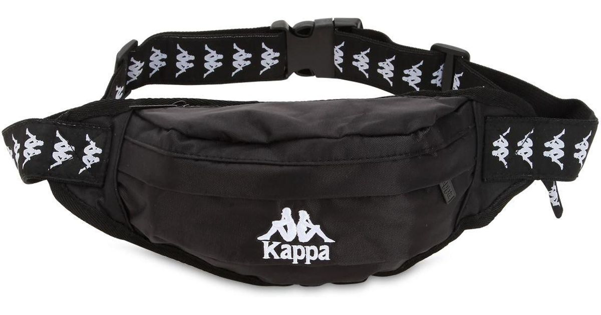 f08d5c241e Kappa Black Active Authentic Belt Bag for men