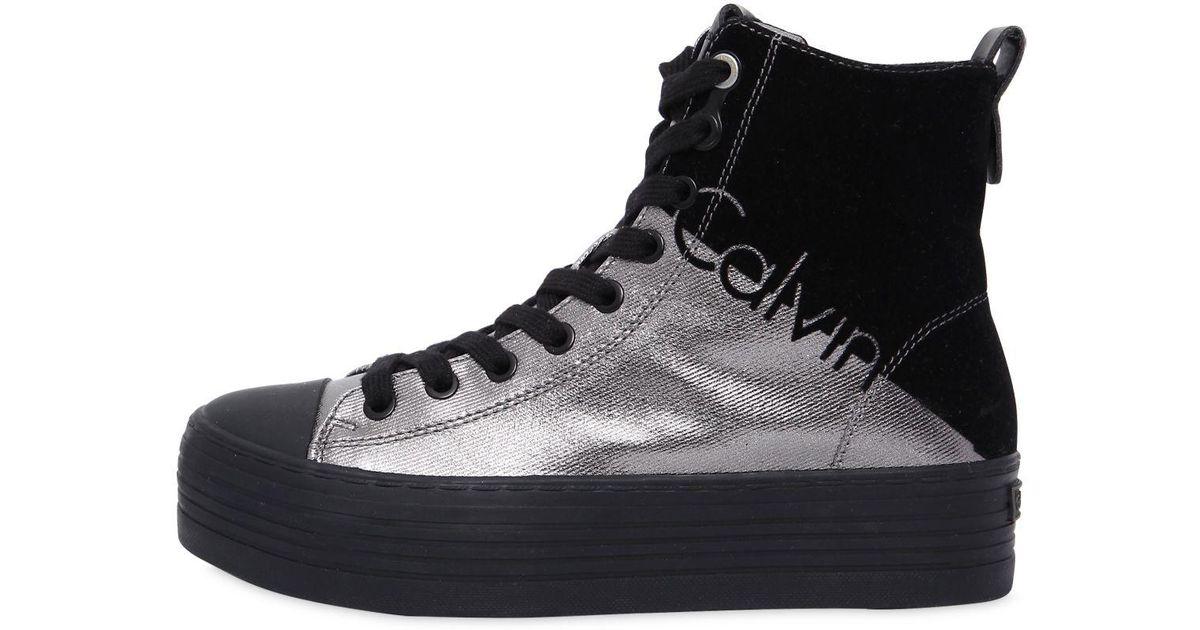 Chaussures En Toile Métallique Calvin Klein wJ7iad8KqQ