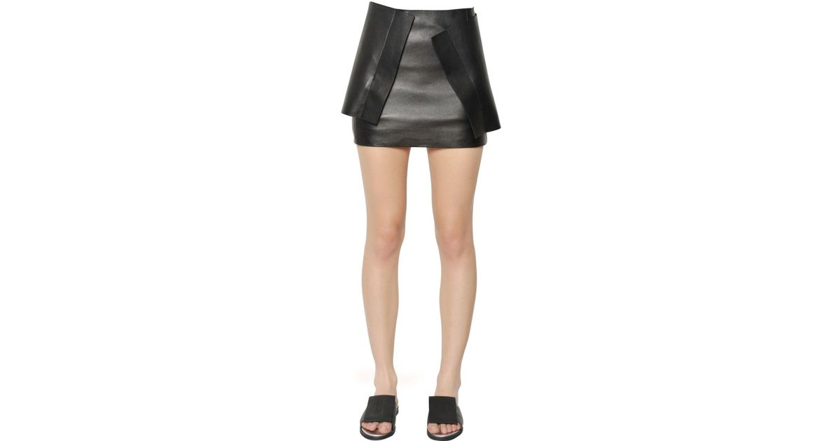 2018 Unisex Cheap Price Best Place mini skirt with leather pocket J.W.Anderson Cheap Sale Eastbay Sale Cost Authentic For Sale omvnyl69Qy