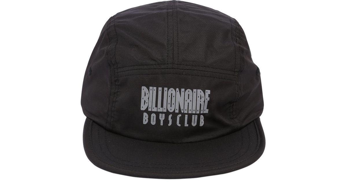 197ac7fb73e Lyst - BBCICECREAM Reflective Logo 5 Panel Hat in Black for Men