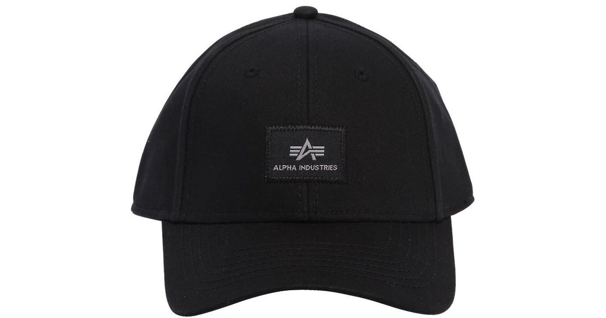 329c3b0f5 Alpha Industries Black X-fit Cap Ii Cotton Hat for men