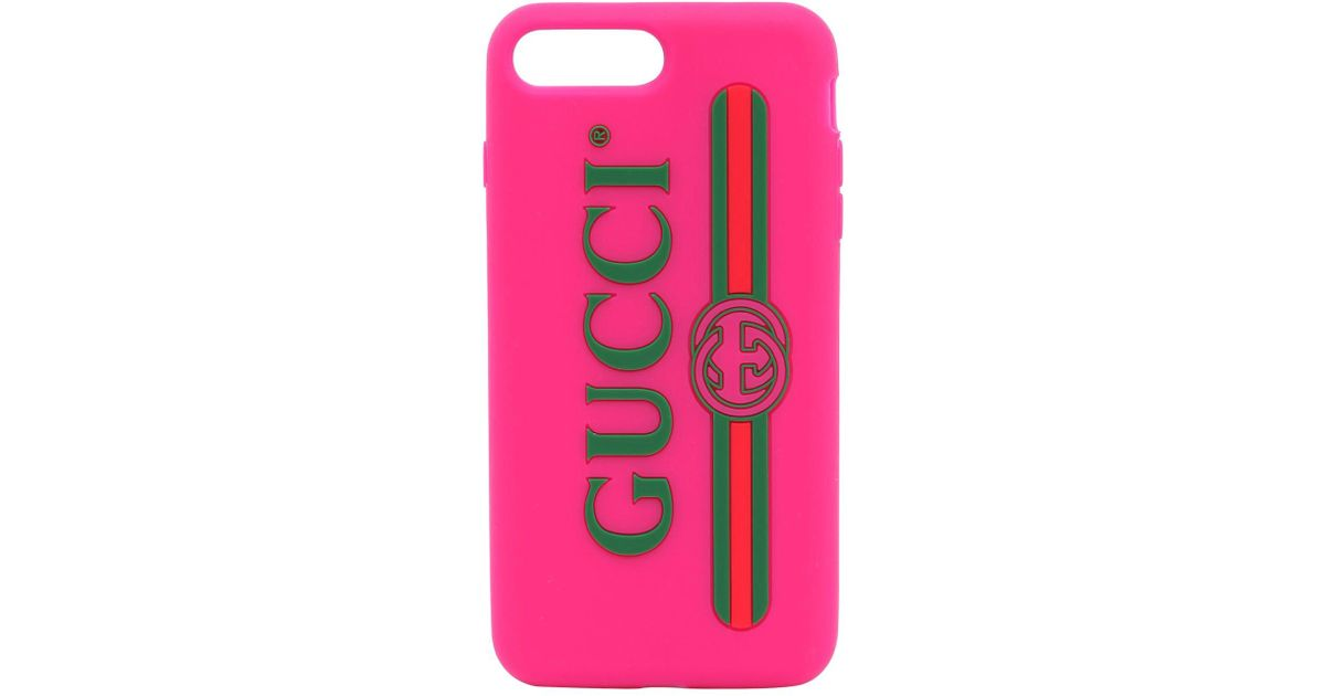 watch cdd21 71210 Gucci Pink Vintage Logo Rubber Iphone X Cover