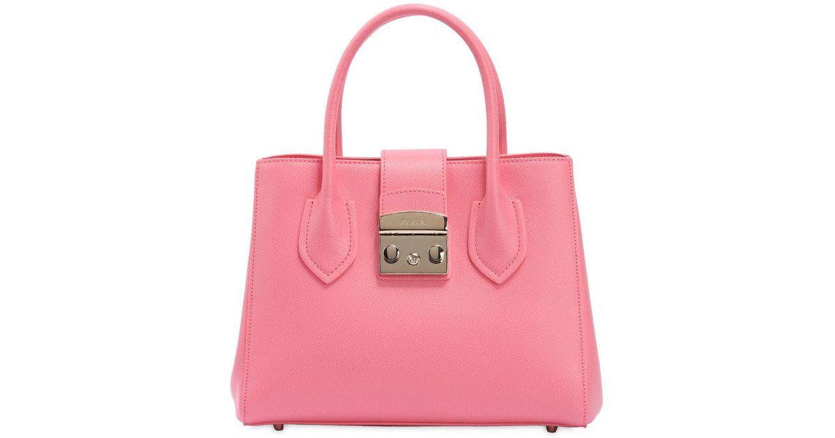 Furla Handtasche METROPOLIS M Leder rosé gepr?gt Online Cheap Quality NAG5yFB