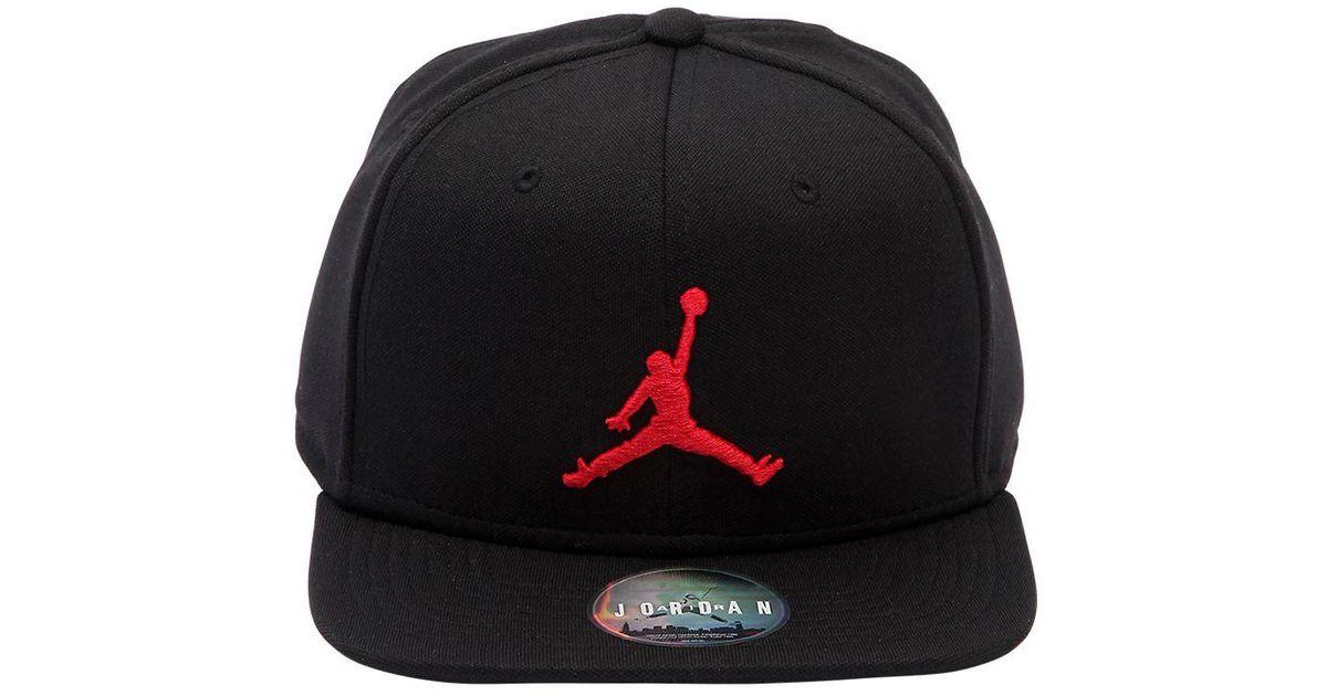 4ee7f2024a3 ... new zealand nike air jordan jumpman hat in black for men lyst c8d2e  d27ef