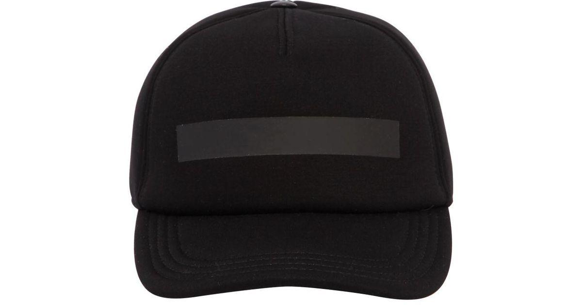 c418b0e1786 Lyst - Neil Barrett Printed Neoprene Baseball Hat in Black for Men