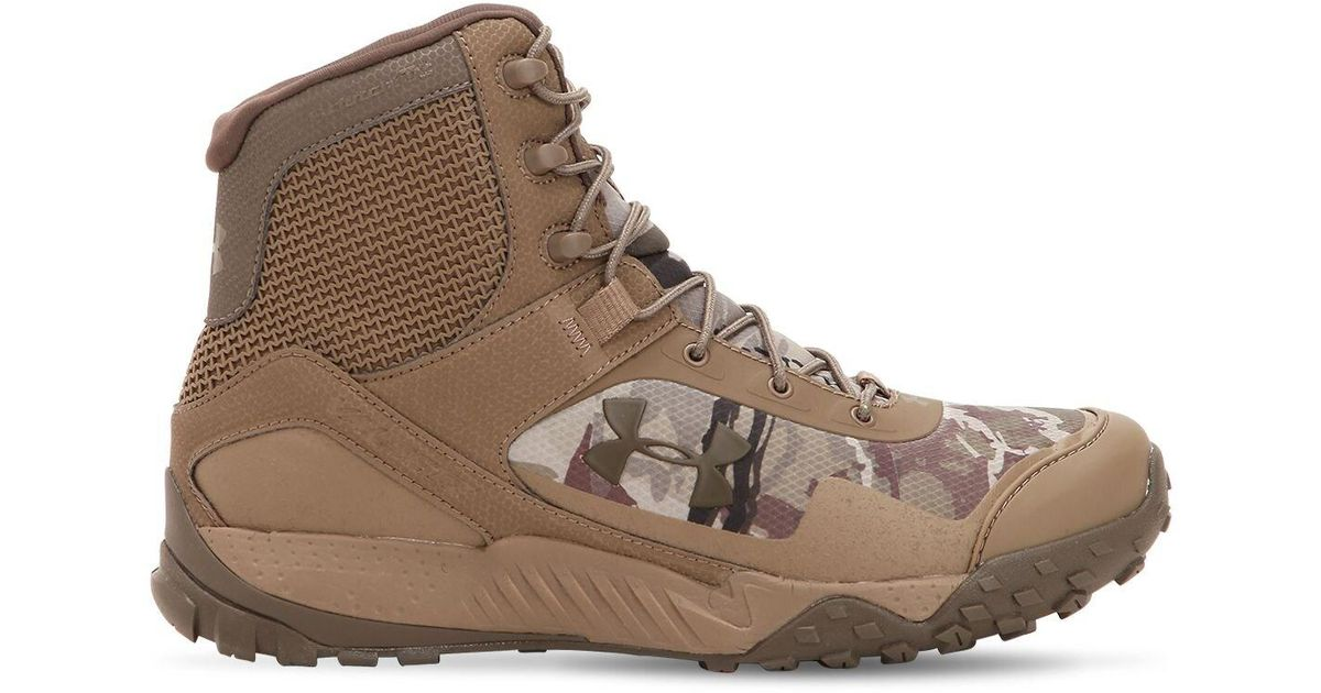 Under Armour Brown Valsetz Rts 1.5 Tactical Boots for men