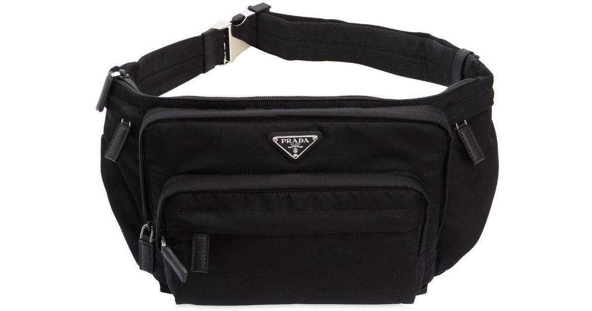 ccca024f Prada Black Nylon Belt Pack