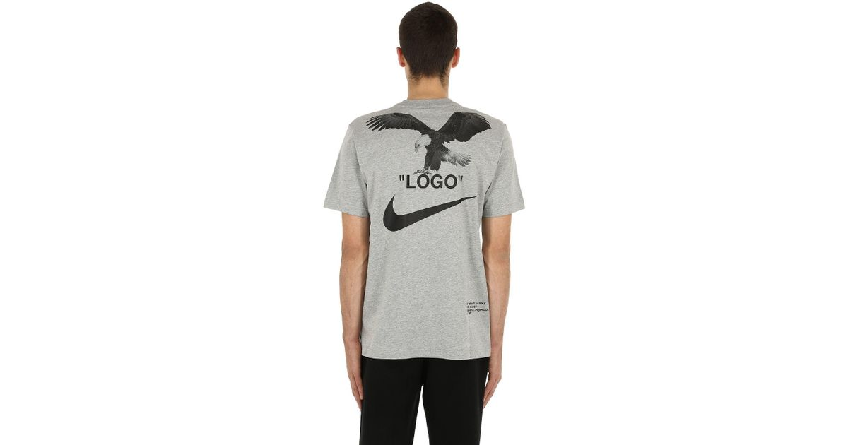 120c69f6b Nike Nrg Off-white A6 Cotton Jersey T-shirt in Gray for Men - Lyst