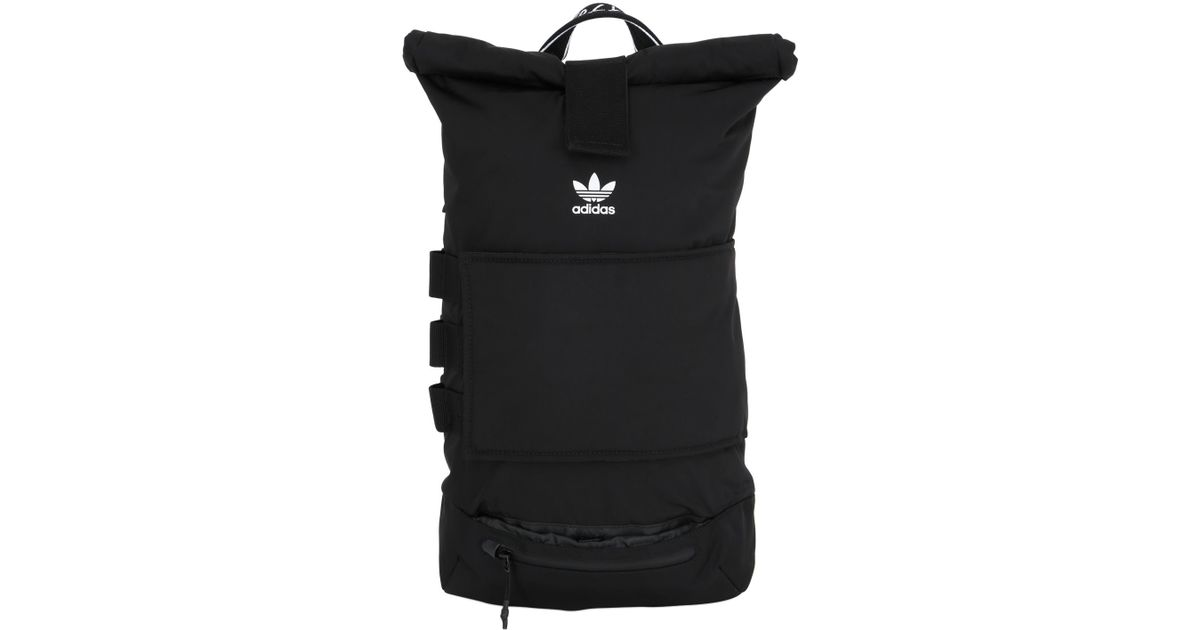 ae92694402 Lyst - adidas Originals Nmd Nylon Roll-top Backpack in Black for Men