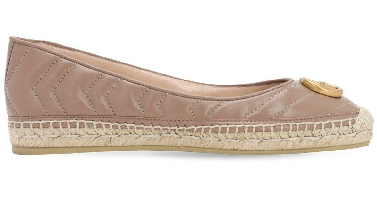 Cole Haan Tali Ballet Flat in Nude Leather (Natural