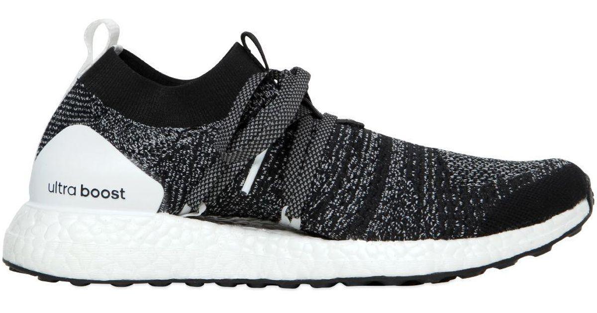 Adidas By Stella McCartney Black Ultra Boost X Primeknit Running Sneakers