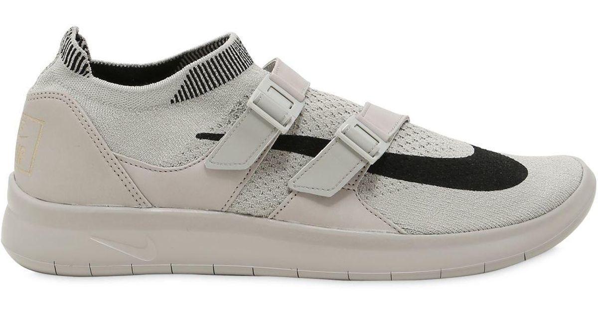 80cc8fd25ee80 Nike Air Sockracer Flyknit Sneakers in Gray for Men - Lyst
