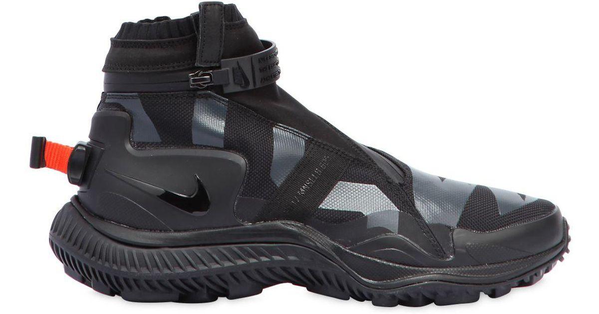 Lyst - Nike Acg.008.zpbt Waterproof Sneaker Boots in Black for Men b654bf039688