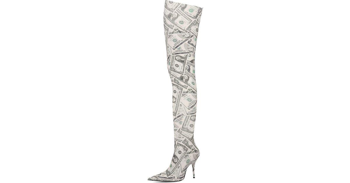Balenciaga 80mm Knife Dollars Thigh