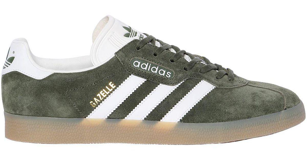 Mens Gazelle Super Low-Top Sneakers adidas UhQiZDYb