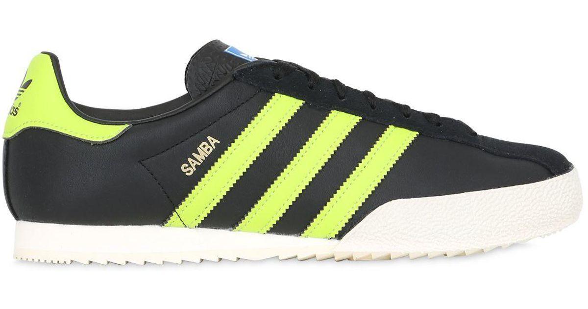 9d7f34697b484 Adidas Originals Multicolor Samba Spzl Spezial Leather Sneakers for men