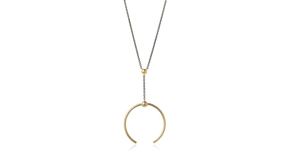 Lyst maria black phoenix medi necklace in metallic aloadofball Image collections
