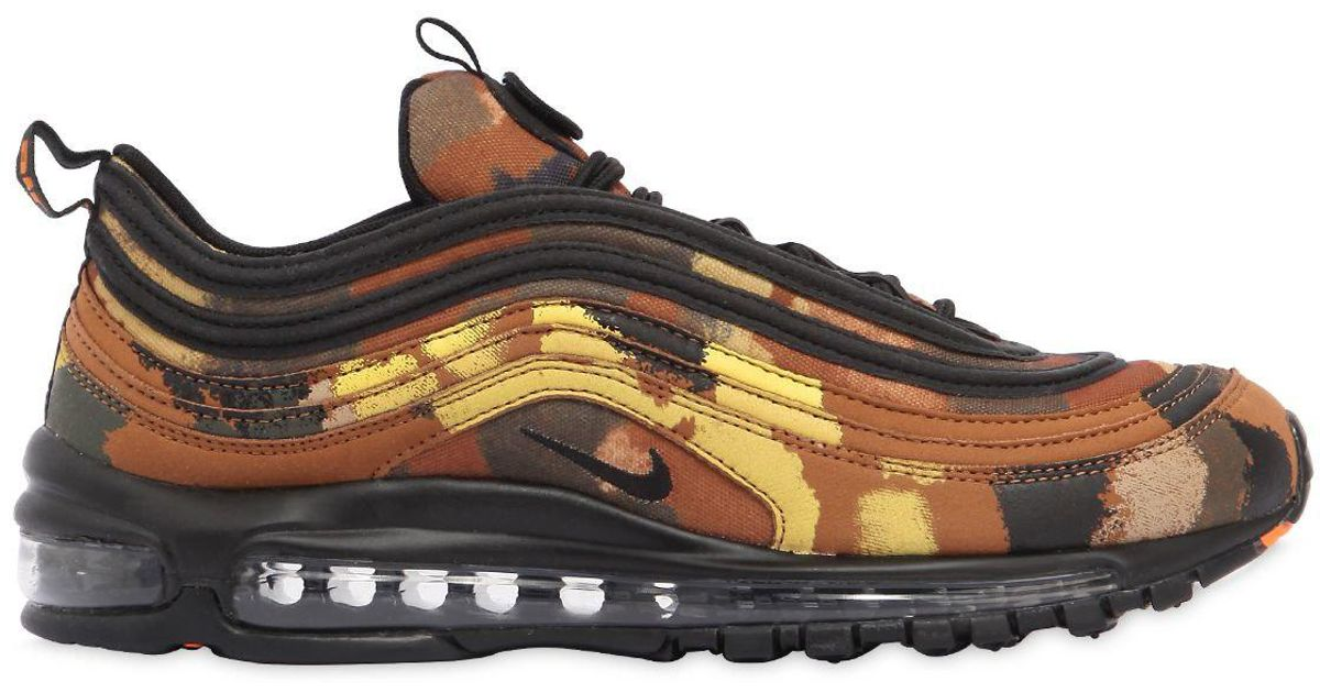 3860037cec5 Lyst - Nike Air Max 97 Camo Pack Italy Sneakers for Men - Save 38%