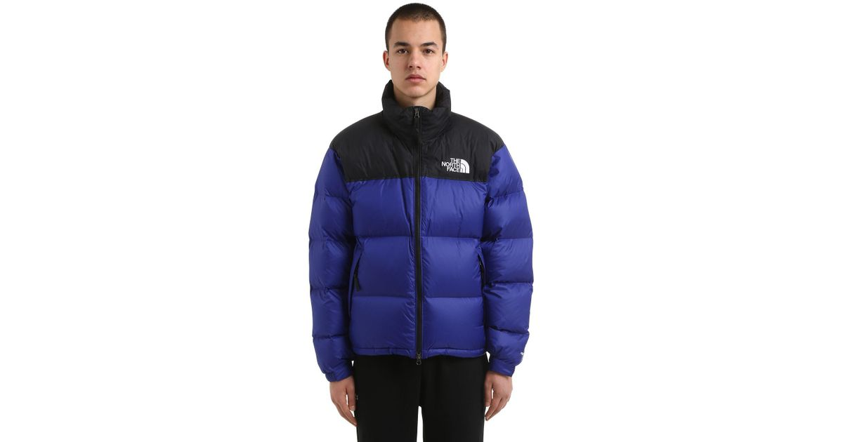 61a9c0489 The North Face Blue 1996 Retro Nuptse Down Jacket for men